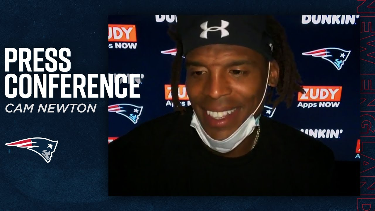 Cam Newton: I've bought into the Patriots  | Press Conference