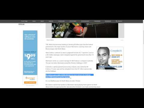 EzyBonds Review Allan Endresz Transfer Fraud