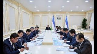 Президент Ш.Мирзиёев 20 ноября провел совещание по развитию нефтегазовой промышленности