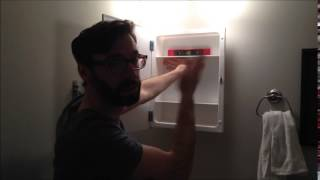 Install A Surface Mount Medicine Cabinet