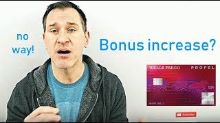NEW CREDIT CARD BONUS: Wells Fargo Propel American Express - Could Return 6%+ in First Year