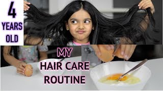 MY HAIR CARE ROUTINE | 4 YEARS OLD | AIMALIFESTYLE