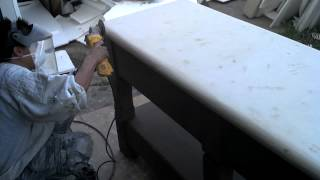 Outdoor Prep Table - Arcusstone Top