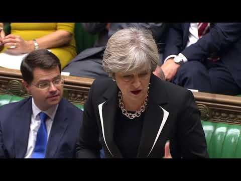 British PM Theresa May urges restraint in Zimbabwe