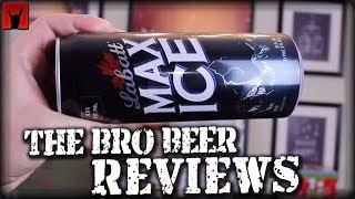 Labatt Max Ice 8% abv - The Bro Beer Reviews