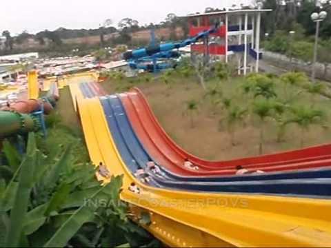 Kamikaze Racer Jet Water Slides, Melaka Wonderland Theme Park