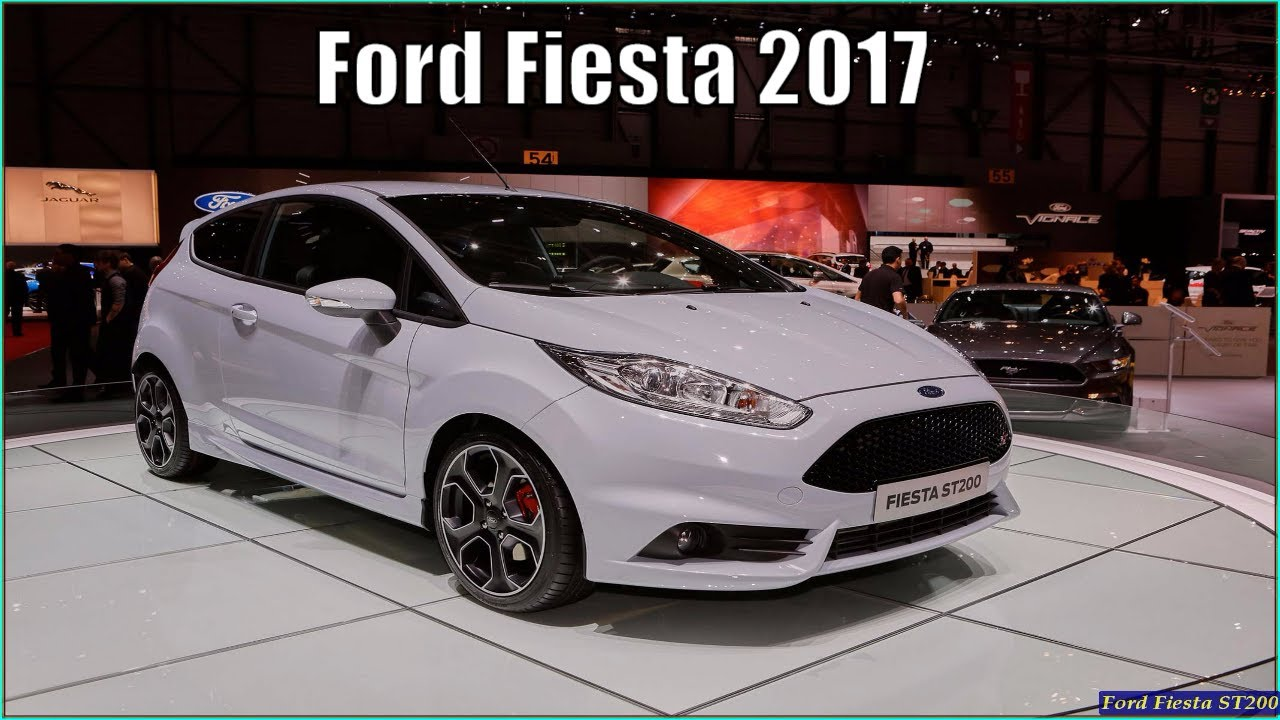 new ford fiesta 2017 titanium ecoboost interior exterior reviews youtube. Black Bedroom Furniture Sets. Home Design Ideas