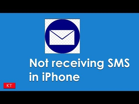 Fixed iPhone not receiving SMS