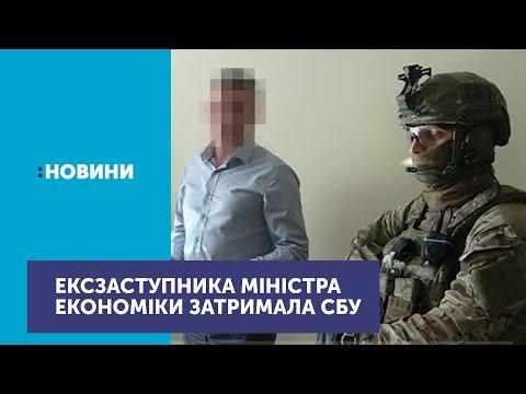 Контррозвідка Служби безпеки України затримала колишнього заступника міністра економіки
