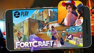 Como jogar Fortnite no Android ? Não Sei ! FortCraft esse sim é o jogo ! (Português - BR)