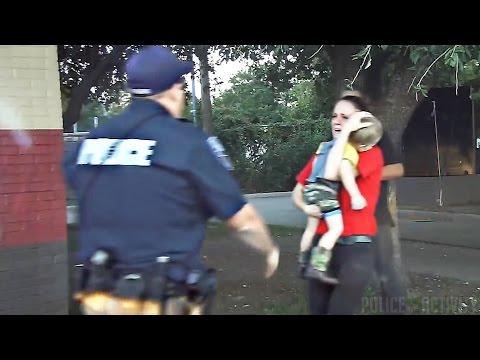 Dashcam Video Captures Cop Saving Child's Life