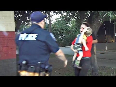 Dashcam Video Captures Cop Saving Child's Life
