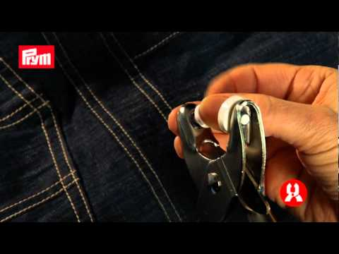 how to apply jean buttons / comment appliquer les boutons jeans