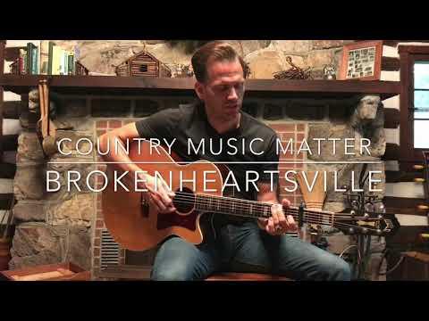 Brokenheartsville- Michael Monroe Goodman