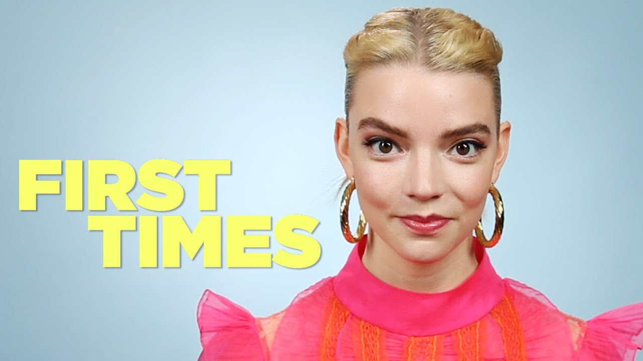 Anya Taylor Joy From Emma Tells Us About Her First Times Youtube