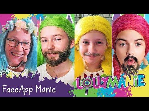 Lollymánie S02E31 - FaceApp Mánie!