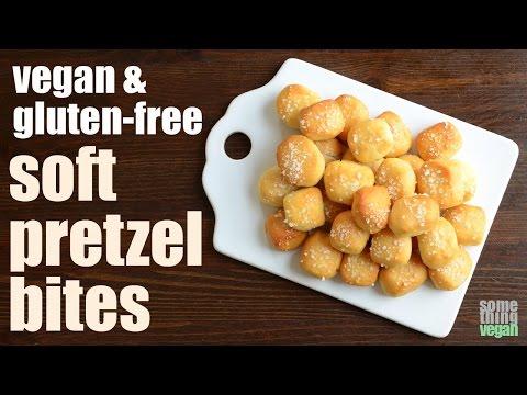 soft pretzel bites (vegan & gluten-free) Something Vegan
