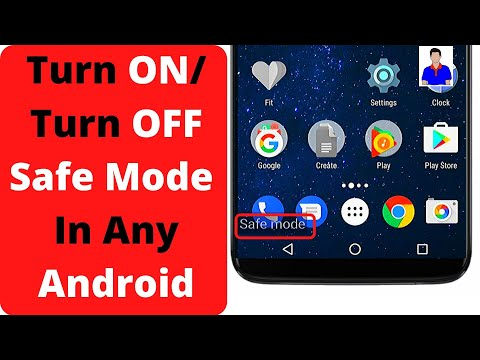 How To Turn ON/OFF Safe Mode On Any Android Phone? What Is Safe Mode? How To Use Safe Mode