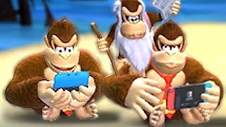 Alle Idle-Animationen in Donkey Kong Country Tropical Freeze-Schalter | DK Spielen 3DS + Switch