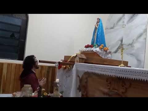 Mensagem de Nossa Senhora 13/11/2019 em São José dos Pinhais, PR.