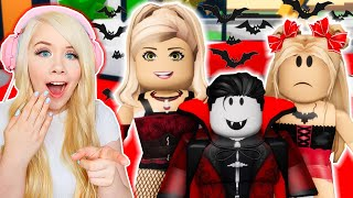 MY MOM ADOPTED A VAMPIRE IN BROOKHAVEN! (ROBLOX BROOKHAVEN RP)
