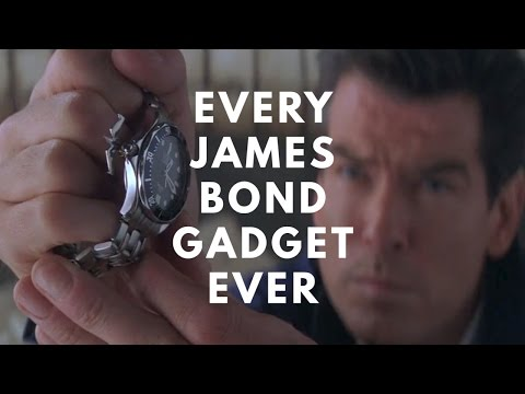 Every James Bond Gadget. Ever.