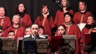 Himno Nacional Argentino - Coro Municipal de Dina Huapi - Escuela Militar de Montaña
