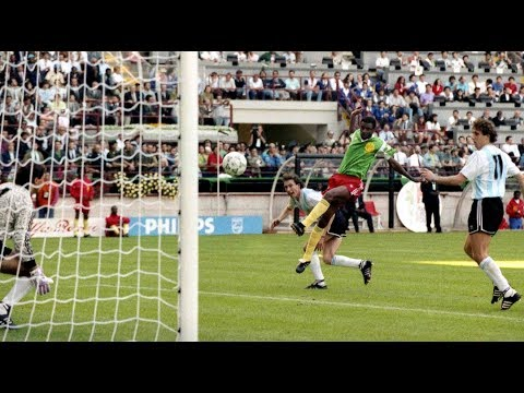 Camerún 1 Argentina 0 (Italia 90) Gol de Biyik