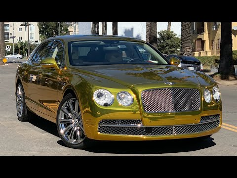 #RDBLA GOLDEN Bentley, Smashed Cars, Too Short's Porsche & More!