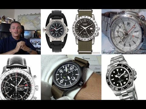 The Most Useful Of Complications - My Top 5 Best GMT Watches + Sinn 856 UTC Review