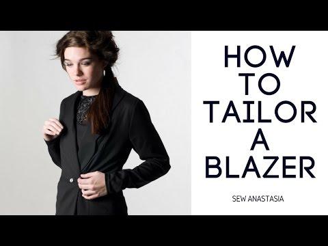 How to tailor a BLAZER | Sew Anastasia