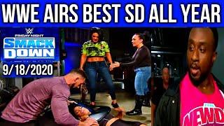 Smackdown 9/18/2020: WWE SHOCKS BC With A GOOD SHOW! Bayley ROCKS Sasha & THIS Is The Big E We NEED!