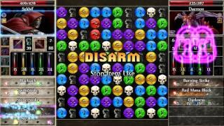 Puzzle Quest 2 - Assassin 24 gem triple strike