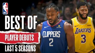 Best Of Player Debuts | Last 5 Seasons