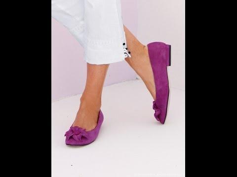 Женские Туфли на Низком Каблуке - фото - 2017 / Womens low-heeled shoes - Photo