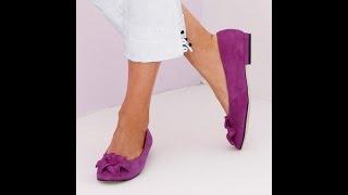 Женские Туфли на Низком Каблуке - фото - 2018 / Women's low-heeled shoes - Photo
