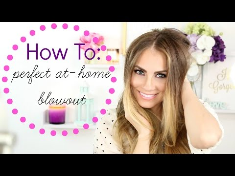 How To: Voluminous Blowout at Home | DIY Blow Dry for Beginners Tutorial