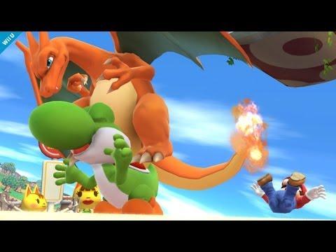 Pokemon Charizard And Greninja Join Super Smash Bros