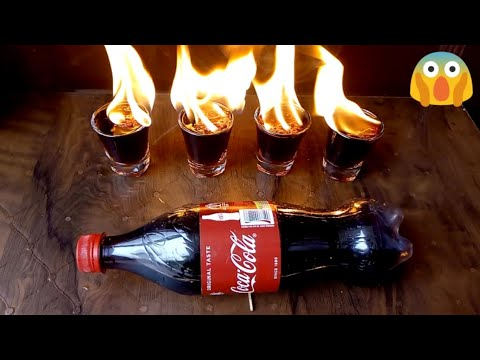 Experiment || Fire in coca-cola || Indian Guy ||😱🔥 🔥
