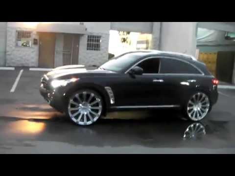 877-544-8473 26 Inch Borghini B18 Chrome Wheels 2013 Infiniti FX45 Rims Free Shipping