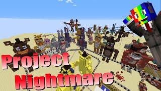 Project Nightmare! - Minecraft FNAF Roller Coaster Showcase