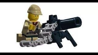 Лего самоделки оружия!
