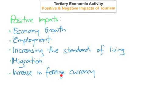 tertiary-economic-activity---positive-&-negative-impacts-of-tourism