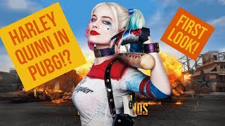Harley Quinn and the Joker in PUBG! Yes please! PUBG X SUICIDE SQUAD!
