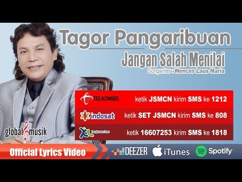 Tagor Pangaribuan - Jangan Salah Menilai (Official Lyrics Video) #music