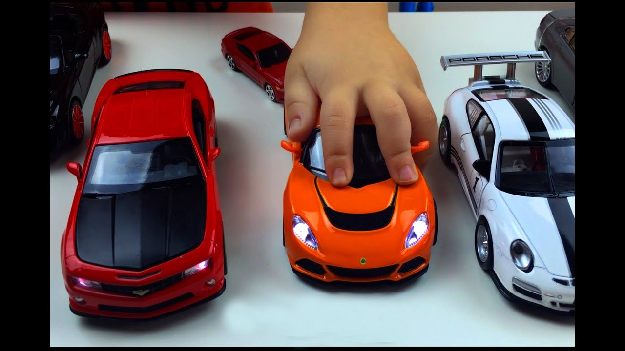 toy cars for kids race cars camaro monster truck mustang bus cars light up go sports car