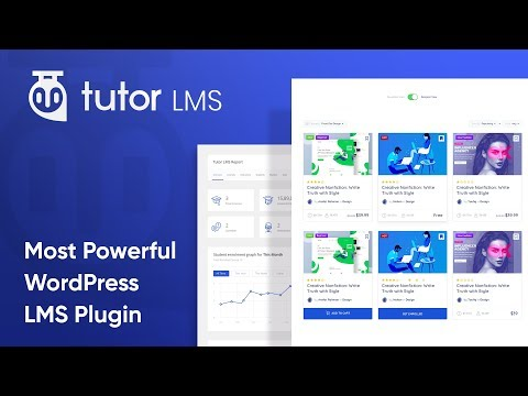 Tutor LMS – eLearning and online course solution – WordPress plugin