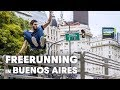 Running late in Buenos Aires.
