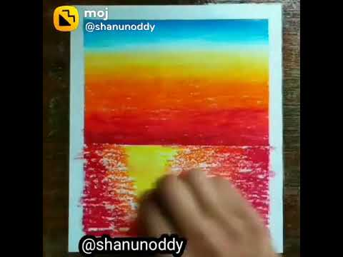 Beautiful painting 🖌️ Oil paster painting ( goyal art) 🎨🖌️