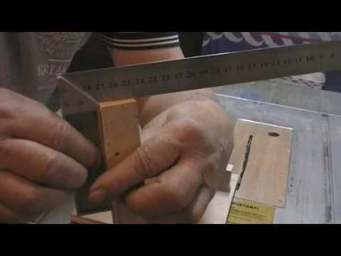 Fabrication d 39 un mini gabarit de coupe pour scie sur table kastepat youtube - Scie sur table fabrication maison ...